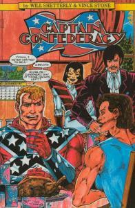 Captain Confederacy (Steeldragon) #3 VF/NM; Steeldragon | save on shipping - det
