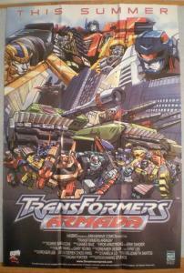 TRANSFORMERS Promo poster, Optimus Prime, 24x36, Unused, more Promos in store
