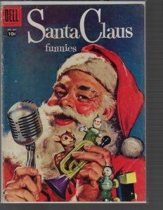 Santa Claus Funnies (Four Color)  #867 (Dell, 1957) VG+