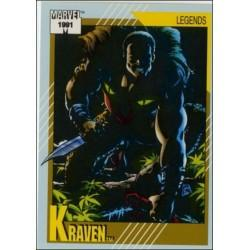 1991 Impel Marvel Universe: Series 2 KRAVEN #143