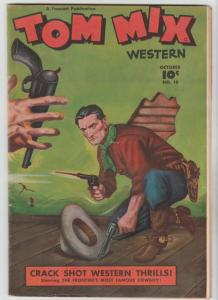 Tom Mix Western #10 (Oct-48) FN/VF Mid-High-Grade Tom Mix