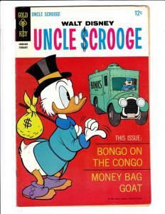 Uncle Scrooge, Walt Disney #73 (Feb-68) FN+ Mid-Grade Uncle Scrooge