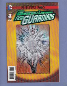 Green Lantern New Guardians Futures End #1 3-D Cover NM DC 2014