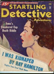 STARTLING DETECTIVE-JUNE/1935-KIDNAPED-PHANTOMS-SCREAMING BEAUTY G