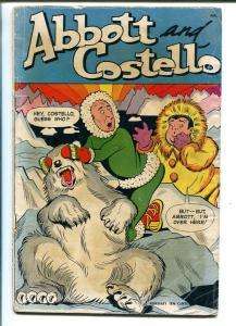ABBOTT AND COSTELLO #9 1950-ST. JOHN-ZANY ART-good/vg