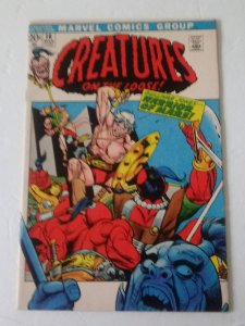 CREATURES ON THE LOOSE #16 (VF+) 1972 Classic Bronze Age Marvel ID27H