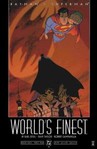 Batman and Superman: World's Finest #1 VF/NM; DC | save on shipping - details in