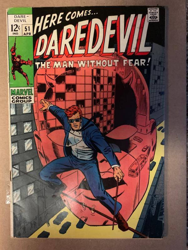 Daredevil (1964) 51 VG/Fine (5.0)  Barry Windsor Smith Art
