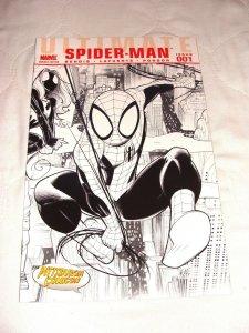 Ultimate Spider-Man #1 (Oct 2009, Marvel) Pittsburgh Comics Sketch Variant NM