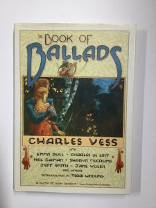 Book Of Ballads Tpb Hardcover Hc Near Mint Nm Tor