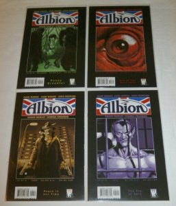 Albion   #2-5 (set of 4) Alan Moore, Gibbons