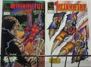 BLOODFIRE (1993 LT) 10-11  (F+ condition) Rampage