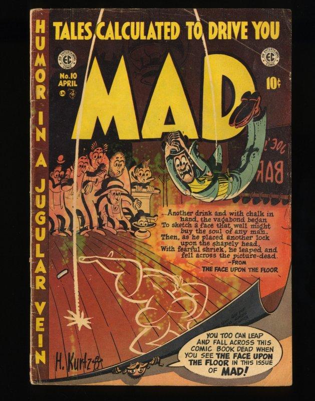 Mad #10 VG 4.0