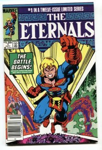 THE ETERNALS #1 1985-First appearance of Khorphos