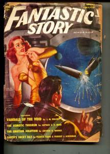 Fantastic Story-Pulp-Spring-1951-J. M. Walsh-Damon Knight
