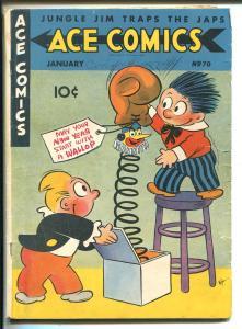 Ace #70 1942-David McKay-Phantom-Blondie-Prince Valiant-H. Foster-A. Raymond-VG+