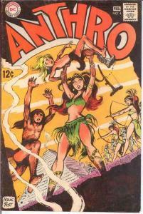 ANTHRO (1968) 4 VG-F  Jan.-Feb. 1969 COMICS BOOK