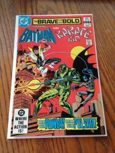 The Brave and the Bold 198 VF/NM to NM-  Batman & Karate Kid