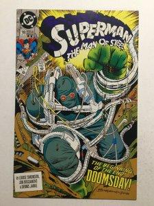 Superman The Man Of Steel 18 Near Mint Nm 2nd Second Print Dc Comics
