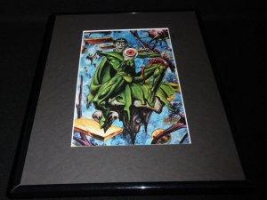 Nightmare Marvel Masterpiece ORIGINAL 1992 Framed 11x14 Poster Display