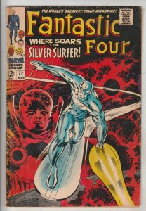Fantastic Four #72 (Mar-68) VG+ Affordable-Grade Fantastic Four, Mr. Fantasti...
