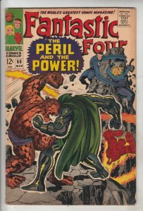 Fantastic Four #60 (Mar-67) VF High-Grade Fantastic Four, Mr. Fantastic (Reed...