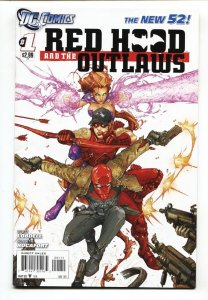 Red Hood and the Outlaws #1 2011-DC New 52-Comic book NM-
