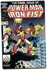 Power Man and Iron Fist #125 Rare LAST ISSUE-comic book VF/NM