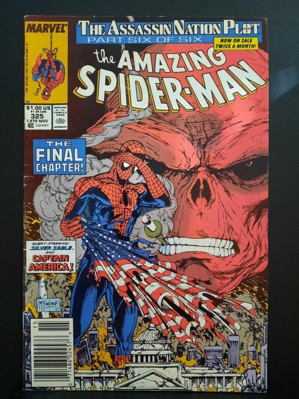 The Amazing Spider-Man #325 (1989) low grade