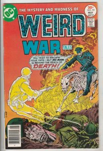 Weird War Tales Mark Jeweler Variant #53 (May-77) NM- High-Grade