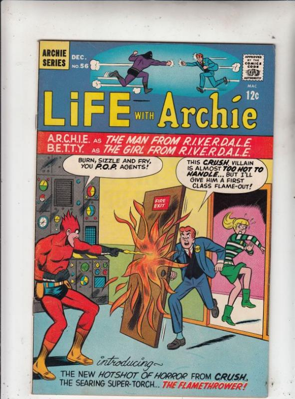 Life with Archie #56 (Dec-66) VF/NM- High-Grade Archie, Jughead, Betty, Veron...