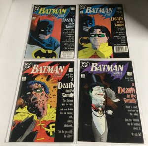 Batman 426 427 428 429 A Death In The Family Nm/M Near Mint/Mint DC Comics