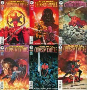 STAR WARS CRIMSON EMPIRE (1997 DH) 1-6  COMPLETE! COMICS BOOK