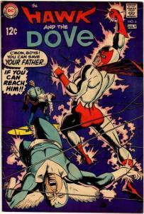 HAWK & DOVE (1968) 6 FINE July 1969