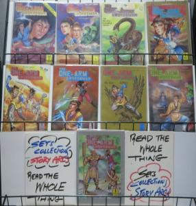 ONE ARM SWORDSMAN (Victory Comics, 1988) #1-9 COMPLETE VF-NM Kung Fu Fantasy