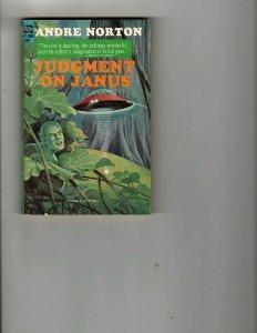 3 Books Judgment On Janus Grass Greed Carson of Venus Western Mystery JK18
