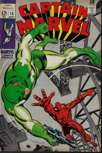Captain Marvel #13 (Marvel, 1969) F+/VF-