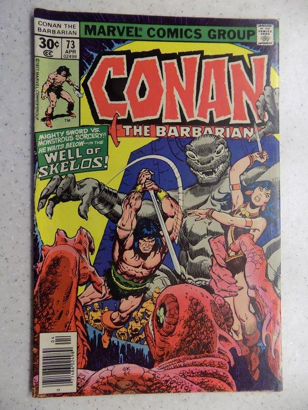 CONAN THE BARBARIAN # 73 MARVEL SAVAGE SWORD FANTASY