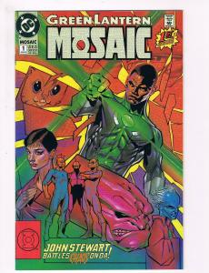 Green Lantern Mosaic # 1 DC Comic Books Awesome Issue Modern Age WOW!!!!!!!! S40