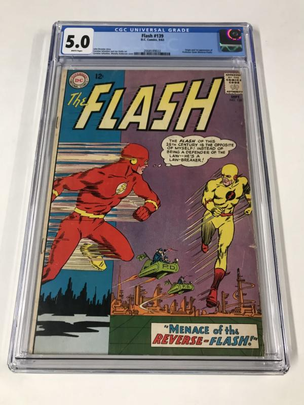 Flash #139 CGC 5.0