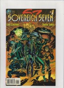 Sovereign Seven #1 VF/NM 9.0 DC Comics 1995 Chris Claremont