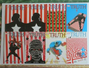 The Truth Red White & Black #1-7 VF/NM Complete Set (With Two Issues Of #1) 2003