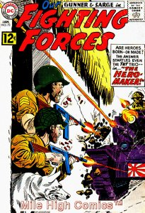OUR FIGHTING FORCES (1954 Series) #73 Very Good Comics Book