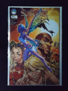 Soulfire #4C Variant Cover by S. Campbell (2005)