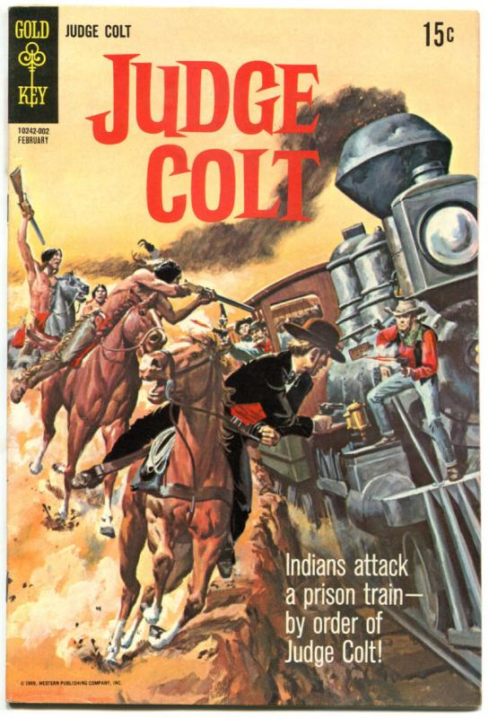 JUDGE COLT #2 3 4, FN VG FN+, Western, Gold Key, 1969, more westerns in store