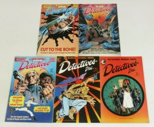 Detectives Inc. #1-2 FN/VF complete series + a terror of dying dreams #1-3 set