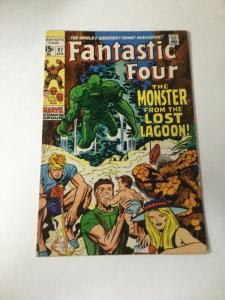 Fantastic Four 97 Vg/Fn Very Good Fine 5.0 Marvel
