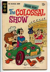 THE COLOSSAL SHOW #1 1969-GOLD KEY-TV SERIES-1ST ISSUE-vg
