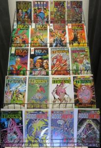 British Comics Lot of 99 Books F/+ Judge Dredd 2000 AD Strontium Dog Robohunter