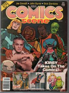 Comics Scene #2 1982-Jack Kirby-Joe Sinott-Dick Giordano-VF